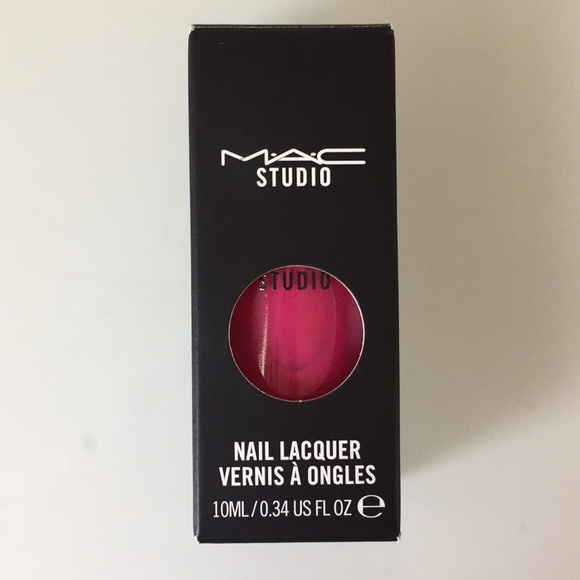 MAC Cosmetics Other | Mac Nail Polish Girl About Town Pink | Poshmark